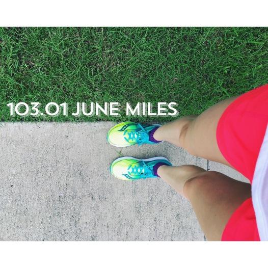 total miles June